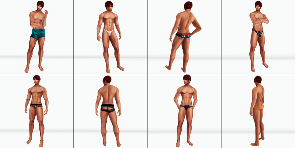 The Underwear Model blog