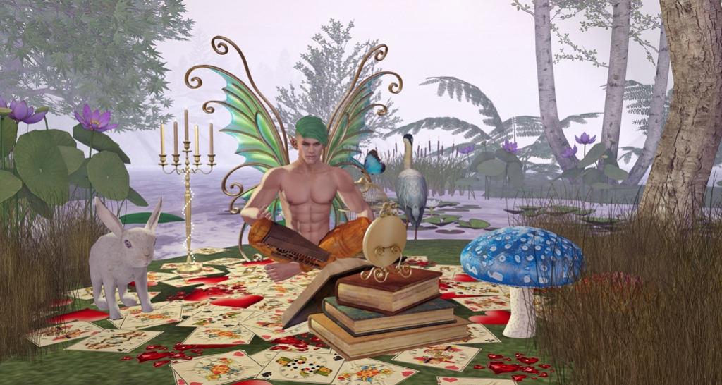 Alice in Wonderland hunt - 1 blog