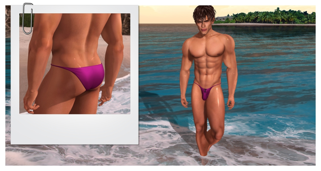 David in Horr swim wear blog